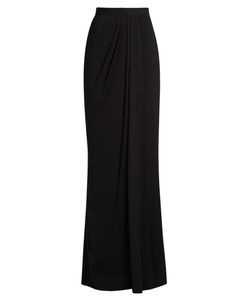 Alexander McQueen | High-Rise Draped Maxi Skirt