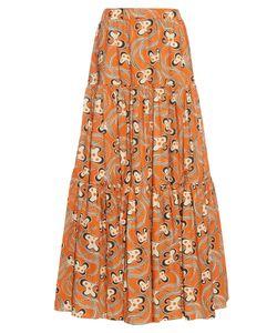 LA DOUBLEJ EDITIONS | The Aperol-Print Big Skirt