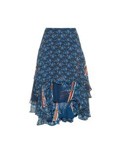 Preen Line | Paisley-Print Georgette Skirt