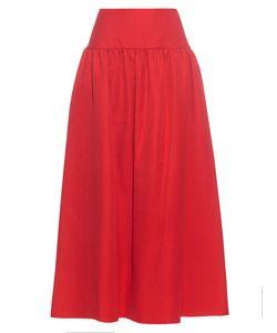 Sonia Rykiel | Gathe Linen And Cotton-Blend Skirt
