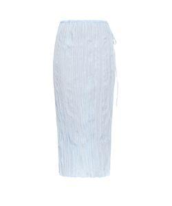 Altuzarra | Calligraphy Crepe Midi Skirt