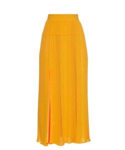 Sonia Rykiel | Pleated Ribbed-Knit Skirt