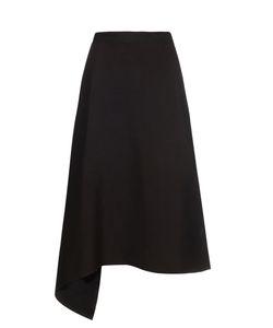 Maison Rabih Kayrouz | Drape-Front Crepe Skirt