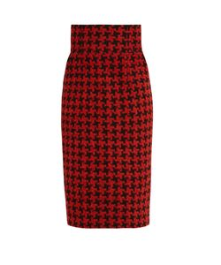 Stella Jean | Dimostrare Hounds-Tooth Skirt