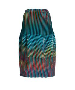 Issey Miyake | Prism 2 Striped And Pleated Skirt