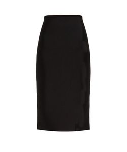 Roland Mouret | May Double-Faced Stretch-Knit Skirt