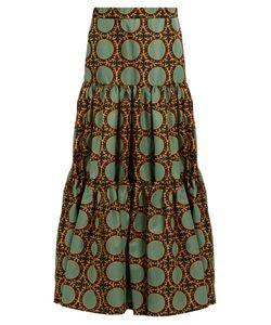 LA DOUBLEJ EDITIONS | The Batik-Print Big Skirt