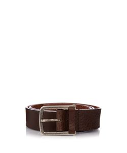 Gucci | Brushed-Leather Belt