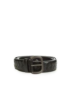 Bottega Veneta | Intrecciato Snakeskin 3.5cm Belt