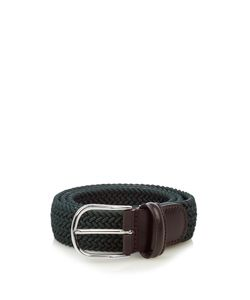 ANDERSON'S | Woven Elasticated Belt