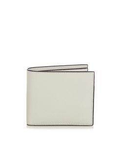 Valextra | Bi-Fold Grained-Leather Wallet
