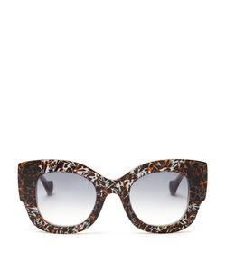 Fendi   X Thierry Lasry Abstract-Print Sunglasses
