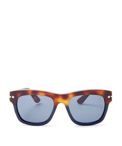 Valentino   Tortoiseshell D-Frame Sunglasses