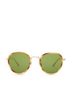 Bottega Veneta | Round-Frame Tortoiseshell Glasses