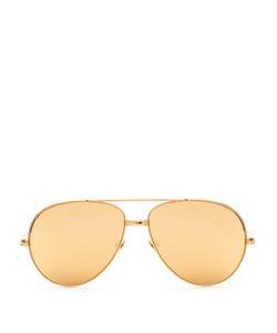 Linda Farrow | -Plated Aviator Sunglasses