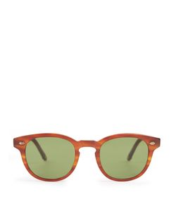 GARRETT LEIGHT | Warren Square-Frame Sunglasses