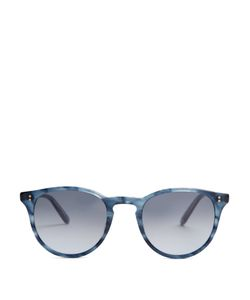 GARRETT LEIGHT | Milwood Round-Framed Sunglasses