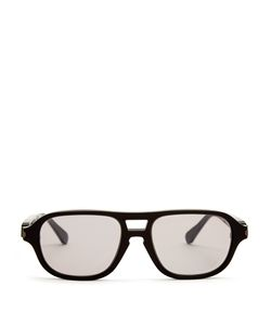 Brioni | Aviator-Style Acetate Sunglasses