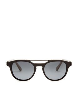 Brioni | Aviator Acetate Sunglasses