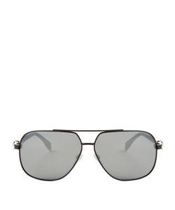 Alexander McQueen | Skull-Hinge Aviator Sunglasses