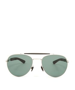 Mykita | Mylon Sloe Stainless-Steel Aviator Sunglasses