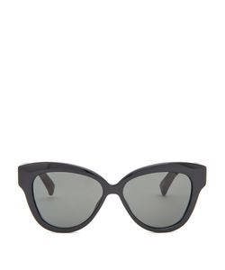 Linda Farrow | Snakeskin And Acetate Cat-Eye Sunglasses