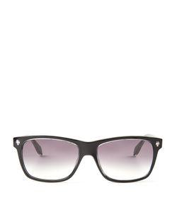 Alexander McQueen | Ghost Skull Acetate Sunglasses