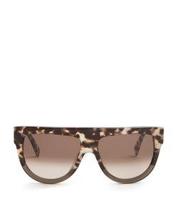 CÉLINE SUNGLASSES | D-Frame Flat-Top Sunglasses