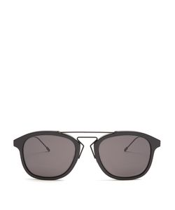 DIOR HOMME SUNGLASSES | Blacktie 227s D-Frame Sunglasses