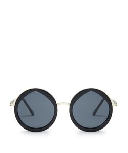 Le Specs   Hey Yeh Round-Frame Sunglasses