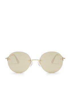 Le Specs   Bodoozle Round-Frame Sunglasses
