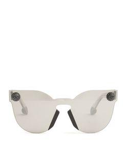 Christopher Kane | Bumper Rimless Cat-Eye Sunglasses