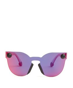 Christopher Kane | Bumper Rimless Cat-Eye Sunglasses
