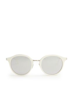 Saint Laurent | Mirrored Round-Frame Sunglasses