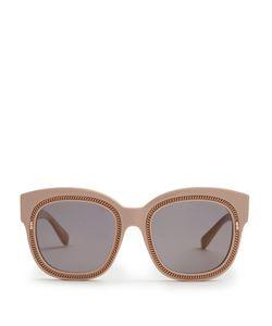 Stella Mccartney | Falabella Chain-Embellished Acetate Sunglasses