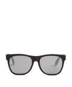 RETRO SUPER FUTURE | Classic D-Frame Acetate Sunglasses