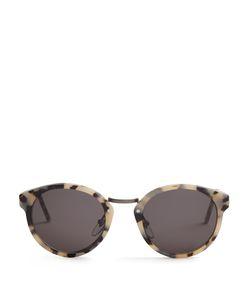 RETRO SUPER FUTURE | Panama Round-Frame Acetate Sunglasses