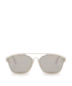 Dior | Abstract Bi-Colour Mirrored Sunglasses
