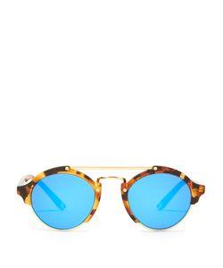 ILLESTEVA | Milan Round-Frame Acetate Sunglasses