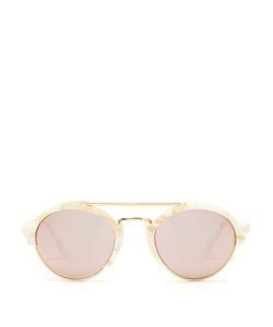 ILLESTEVA | Milan Ii Round-Frame Acetate Sunglasses