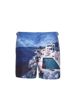 Orlebar Brown | Bulldog Photographic-Print Swim Shorts