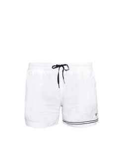 DANWARD | Asymmetric-Stripe Swim Shorts