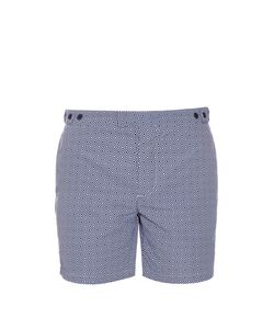 FRESCOBOL CARIOCA | Tailored Angra-Print Swim Shorts
