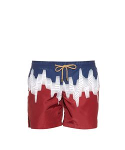 THORSUN | Ombre-Print Swim Shorts