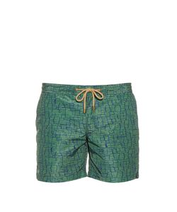 THORSUN | Clay-Print Swim Shorts