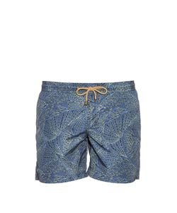 THORSUN | Fans-Print Swim Shorts