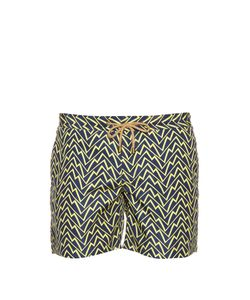 THORSUN | Chaos-Print Swim Shorts