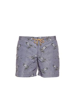 THORSUN | Bird-Print Swim Shorts