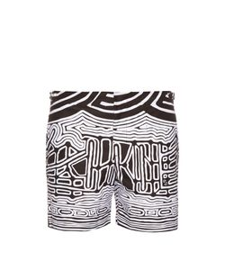 Orlebar Brown | Bulldog Abstract-Print Swim Shorts