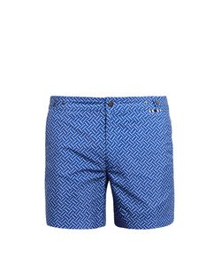 DANWARD | Polka-Dot Print Swim Shorts